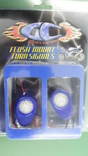 NOS Yamaha Greggs Customs Blue Led Flushmount Signsls 2007 YZF-R1 638011