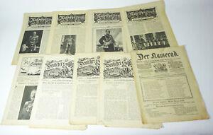 Konvolut Antiguo Militar Periódicos De La Imperio 1911-1913 ! (B6