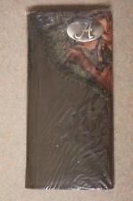 ZEP-PRO Alabama Crimson Tide Roper Leather Fence Row Camo Wallet NO BOX new RTR