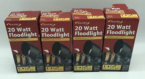 Lot 4 Malibu 20 Watt Floodlight Low Voltage Landscape Lighting 8301-9604-01 2010