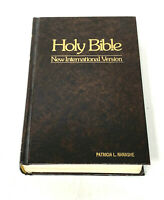 Holy Bible New International Version 1979 NIV Brown Hardcover Zondervan