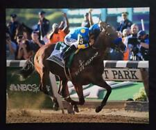 AMERICAN PHAROAH VICTOR ESPINOZA SIGNED 16X20 PHOTO Breeders' Cup Horse Racing