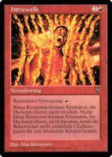 """Magic The Gathering (MtG) Karte """"Hitzewelle"""" deutsch neuwertig"""