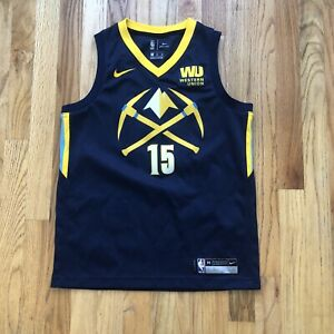 Nike Dri-Fit Denver Nuggets Nikola Jokic City Edition Swingman Jersey Sz Youth M