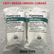 Kenmore Intuition Upright vacuum HEPA filter bags IB600 Type---12BAGS!!