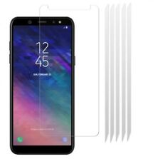 [PACK OF 5] CLEAR Screen LCD Protector Cover Guards for Samsung Galaxy A6 2018