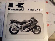 factory service manual for kawasaki zx-6r motorcycle 00-01