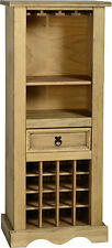CORONA MEXICAN PINE WINE RACK CHEST FURNITURE STORAGE *FREE NEXT DAY DELIVERY
