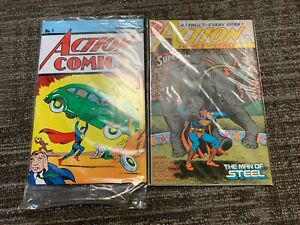ACTION COMIC LOT