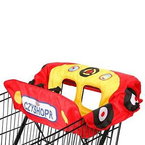 Little Tikes Racecar Shopping Cart & High Chair Cover Baby Red Cozy Coupe Car