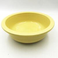 Fiestaware Sunflower Yellow Vegetable Bowl Homer Laughlin Lead Free