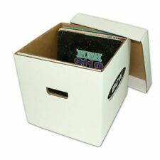 (1) BCW 33 RPM / 12 inch Vinyl Record Storage Box