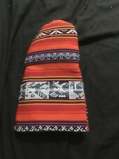 Native Tribal Design Oven Mitt Orange