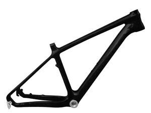 Carbon Mountain Bike Frame 26er Hardtrail MTB Frameset quick  BSA 3K Glossy