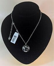 Guess Damen-Halskette Edelstahl Kristall 41 - 50 cm variabel UBN 91322