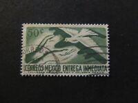 1962 - MEXICO - HANDS AND PIGEON - SCOTT E18 SD6 50C