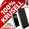Krusell Undercover Donso Back Case Clip On Cover Shell for Apple iPhone 4 / 4S