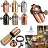 Retro Antique Edison Brass Copper Keyless Lamp Light Bulb Holder Socket E26/E27