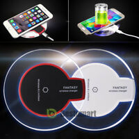 Qi Wireless Fast Charger Dock Charging Pad Receiver for iPhone 12/11/X/XR/7/Plus