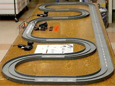 1993 UNUSED TYCO TCR Slotless Slot Car Total Control RACE SET 20ft + 3 Vehicles!