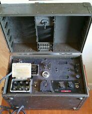 Vintage Army Signal Corps Telephone Telegraph Radio Communication Center