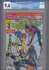 AMAZING SPIDER-MAN Annual #26 CGC 9.6 1992 Marvel New Warriors App