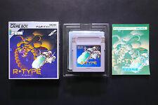 R-TYPE Nintendo GameBoy JAPAN Very.Good.Condition