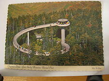 1971  Vintage Great Smoky Mountains National Park Clingman's Dome Unused Card