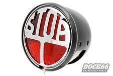 Millers Rücklicht / Stopllight rot 12V LED und ECE für Harley und Chopper
