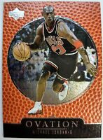 1997-1998 Upper Deck Ovation Michael Jordan #7, Foil, Chicago Bulls HOF