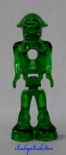 NEW Lego Minifig Trans Green ALIEN Mars Space Martian GLOWING UFO