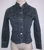 Banana Republic Womens Jean Jacket XS Denim Blue  Button Front ~ Size XS ~ Jean