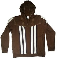 Assassins Creed Mens Hoodie XL Brown Full Zip Bioworld Ubisoft New With Tags