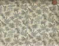 Festive Holiday evergreen pine branches Benartex fabric
