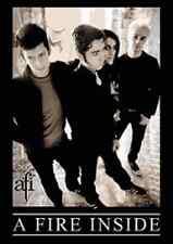 AFI Classic Black & White Band Photo Logo Sticker NEW OFFICIAL MERCHANDISE RARE