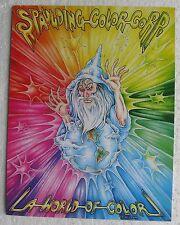 Huck Spaulding (Tattoo) La World Of Color glossy folder - circa early 1990's