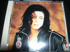 Michael Jackson Who Is It Ultra Rare US Maxi CD Single Cat 49K74420