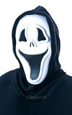 DELUXE Injection Molded Mask Halloween Glow in the Dark Smiley Face Scream 3356