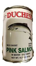 3pk of 14.75oz Wild Caught Pink Salmon In Water. Salt Added  Exp 3/19/2022