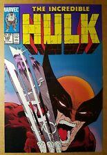 Wolverine Incredible Hulk 340 Marvel Comics Poster by Todd McFarlane