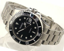 Parnis 40mm Ceramic Bezel sapphire glass Miyota automatic mens watch 999