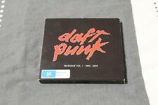 Daft Punk *Musique Vol 1 1993 - 2005* compilation CD/DVD set :: pre-owned