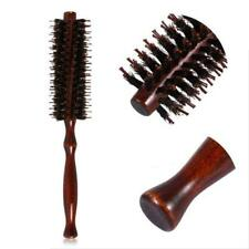 Professional Round Barrel Styling Curling Tool Nylon Bristle Hair Brush Comb JJ