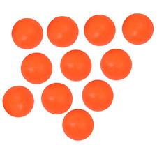 BRAND NEW BLI X 11 FOOTBALL TABLE BALLS - COLOUR ORANGE