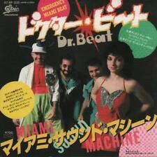 "Miami Sound Machine Dr Beat 7"" vinyl single record Japanese promo 075P-335"