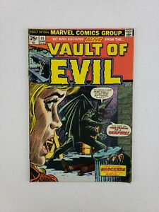 Vault of Evil #11 June 1974 Marvel Comics Burton's Blood Kirby Genie Bronze Age