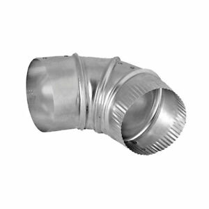 E4E24ZW Aluminum Elbow 4 inch Elbow Duct Connector Dundas Jafine