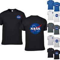 NASA Space Symbol Astronaut Logo Mens T Shirt Short Sleeve Unisex T-Shirt Tee