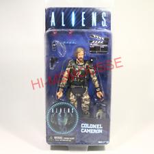 """NECA Aliens Colonel Cameron Colonial Marine 7"""" Figure James Alien Movie Director"""