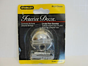Stanley Hardware 75-0051 / CD9202 Lo-Rise Floor Doorstop in Bright Chrome